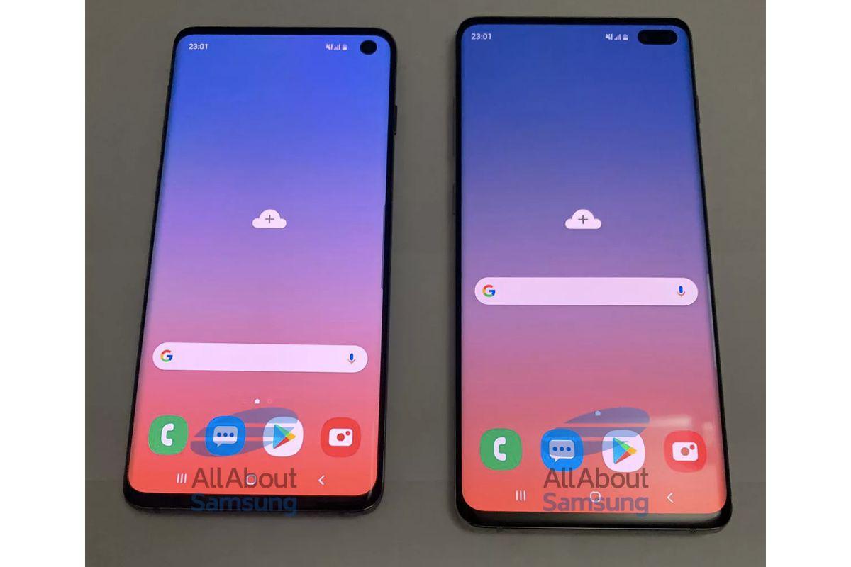 1. Samsung Galaxy S10 dan Galaxy S10+