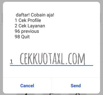 Cara Cek Nomor XL Dengan Kode Dial 6