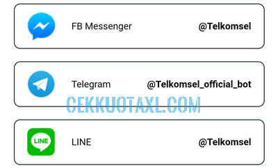 Alamat Akun Virtual Assistant Call Center Telkomsel