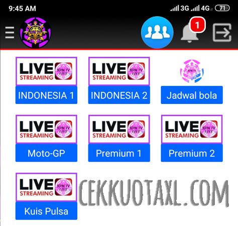 Aplikasi KPN TV 3