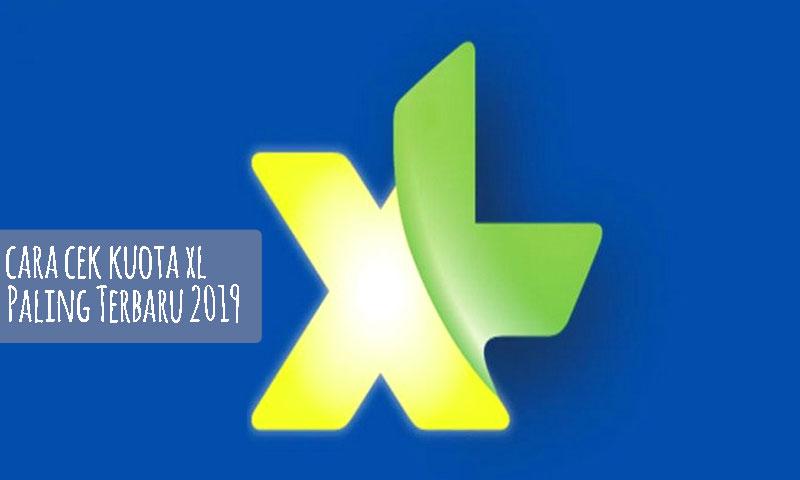 Cara Cek Kuota XL Paling Terbaru 2019
