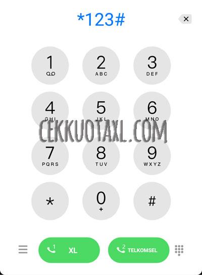 Cara Cek Nomor XL Dengan Kode Dial 1