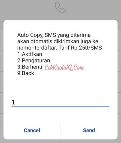 Cara Daftar SMS Copy Telkomsel 2