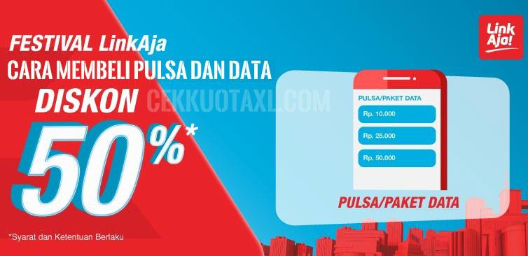 Cara Membeli Pulsa & Data Diskon Hingga 50%