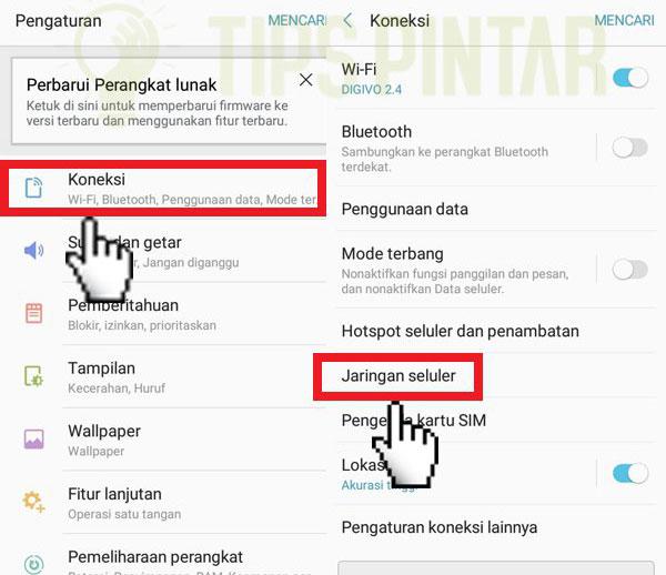 Cara Memperkuat Sinyal Axis 3G atau 4G di HP Android 1