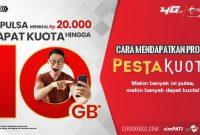 Cara Mendapatkan Promo Pesta Kuota Telkomsel