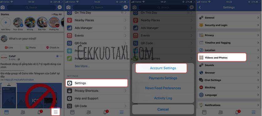 Cara Menggunakan Facebook di iPhone agar Hemat Baterai 1
