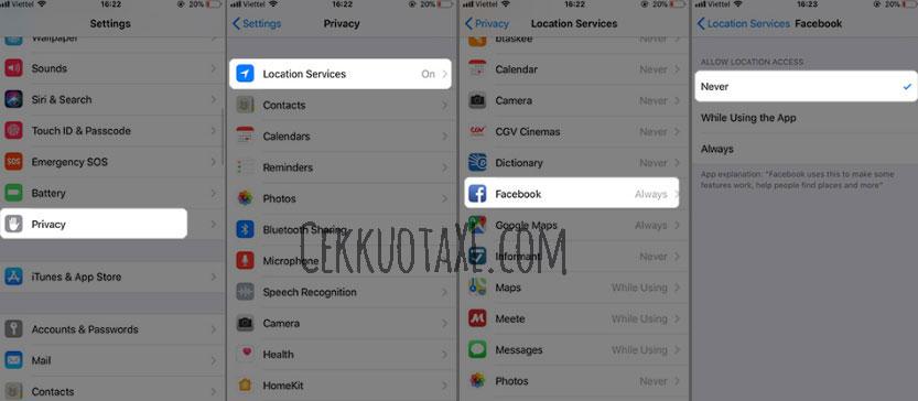 Cara Menggunakan Facebook di iPhone agar Hemat Baterai 2