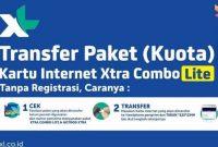 Cara Mentransfer Paket Data XL Terupdate 2018
