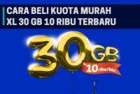 Cara Merubah Kuota XL 30 GB Jadi Kuota Reguler Terupdate 2018