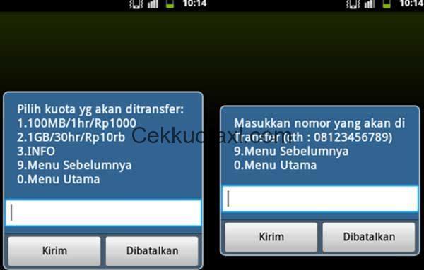 Cara Transfer Kuota Indosat