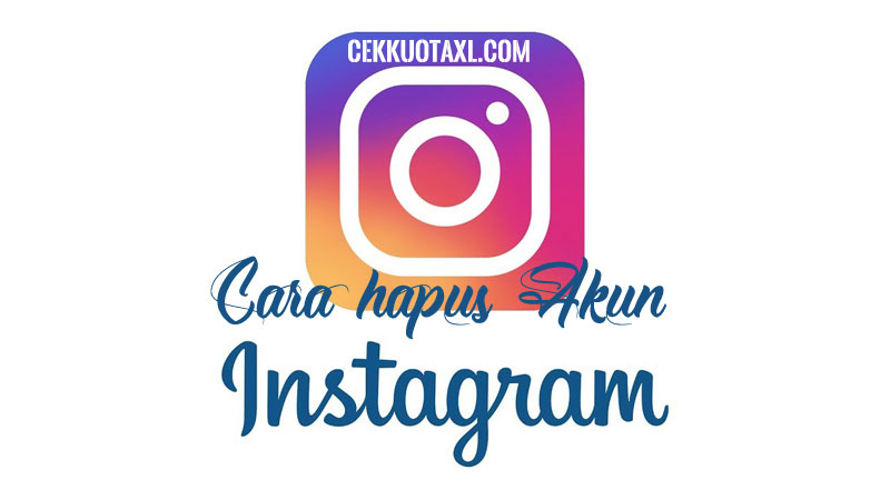 Cara hapus akun Instagram dengan langkah paling sederhana