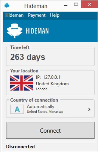 Hideman Fre VPN