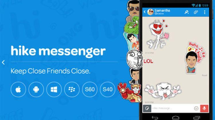 Aplikasi Chat Terbaik Hike chat app