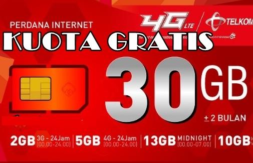Kode Rahasia Telkomsel 30 GB 0 Rupiah Terupdate 2018