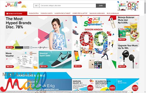 Aplikasi Belanja Online Gratis Ongkir Mataharimall