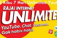 Paket Internet iM3 Unlimited Tanpa Kuota Murah