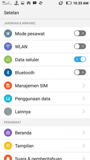 Cara setting APN Indosat 3G 4G