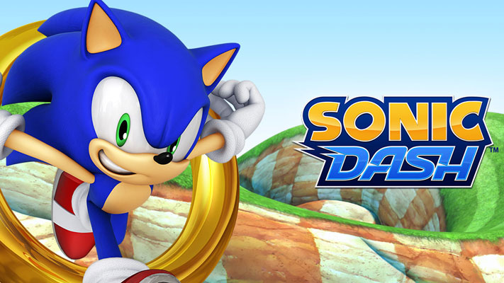 game endless runner Sonic Dash
