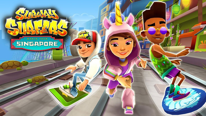 game endless runner Subway Surfer
