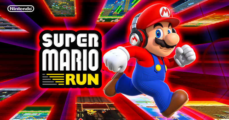game endless runner Super Mario Run