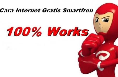 Trik Internet Gratis Smartfren Tanpa Pulsa & Kuota