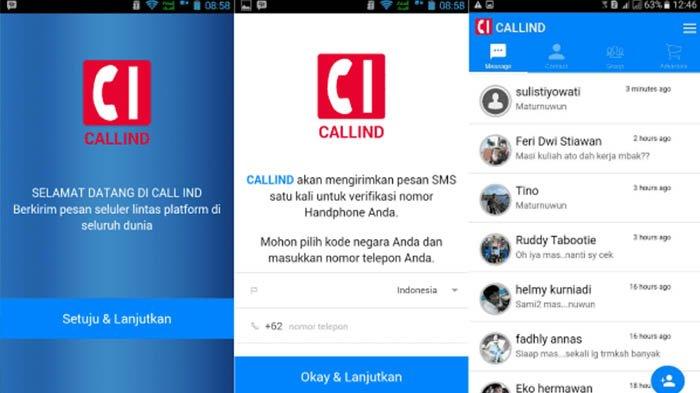 aplikasi Callind