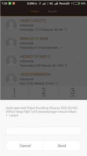 bundling paket internet telkomsel gratis