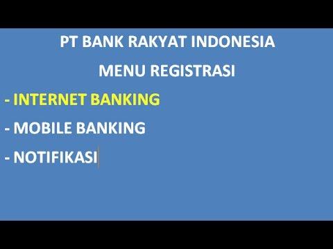 cara daftar internet banking BRI_daftar atm_1