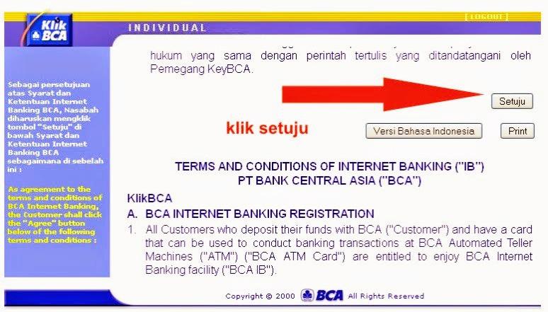 cara daftar internet banking bca_aktivasi