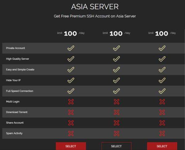 cara membuat akun ssh dan ssl untuk internet gratis