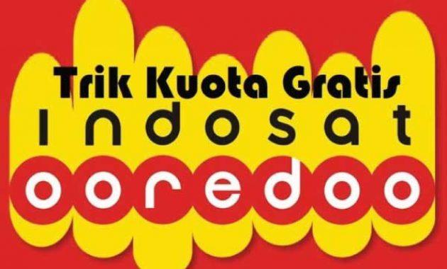 cara mendapatkan kuota gratis Indosat Ooredoo