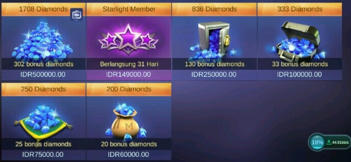 Cara Top Up Beli Diamond Mobile Legends di Alfamart Yang Paling Mudah