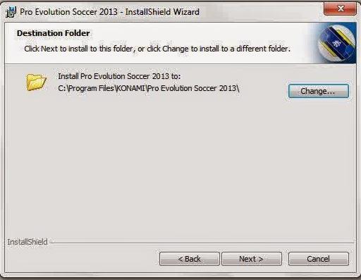 cara instal PES 2013 simpan file