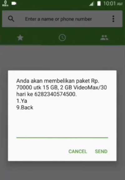 kode dial kuota telkomsel murah