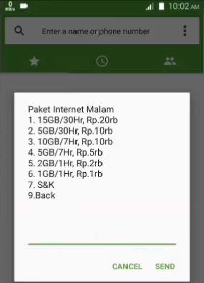 kode dial murah paket malam telkomsel