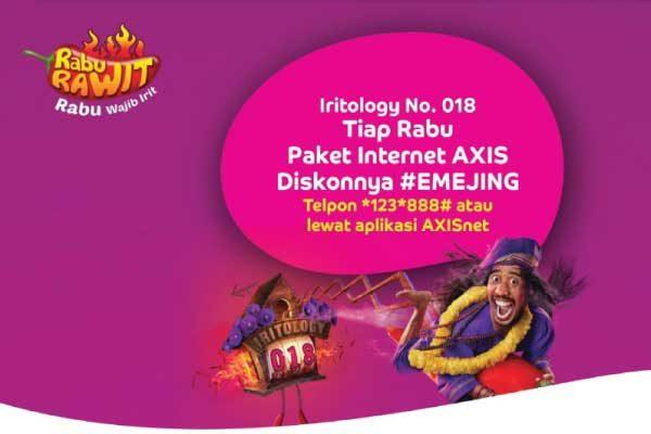 kode dial untuk axis net