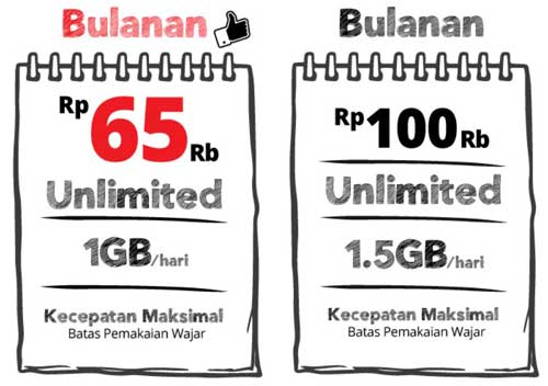 Paket Internet Super 4G Unlimited