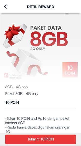 Paket-data-8GB-4G-only