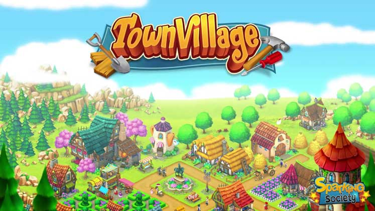 game android offline town-village