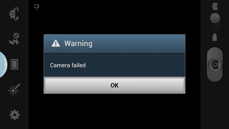 masalah Smartphone Android Camera tidak bisa dibuka