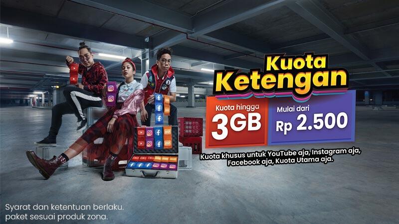 Kuota Ketengan 35GB Telkomsel