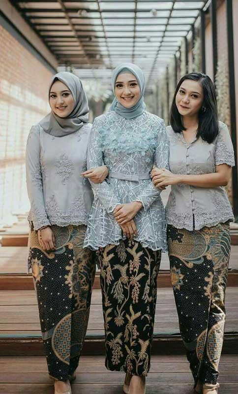 Model Kebaya Hijab Wisuda Muslim