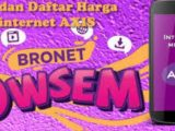 Cara Beli Paket Bronet 4G Owsem Axis Dengan Harga Murah