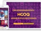 Cara Menggunakan Kuota HOOQ Menjadi Kuota Flash Telkomsel