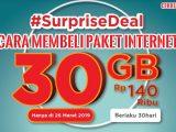 Paket Internet Surprise Deal 30GB Telkomsel