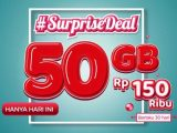 Paket Surprise Deal 50GB Telkomsel