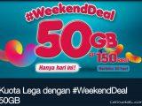 Cara Membeli Paket Internet WeekendDeal 50GB Telkomsel Terbaru
